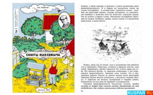 """Книга о бане - """"Советы Максимыча"""". Автор - Андреев А.М."""