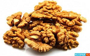 Грецкий орех в банной медицине